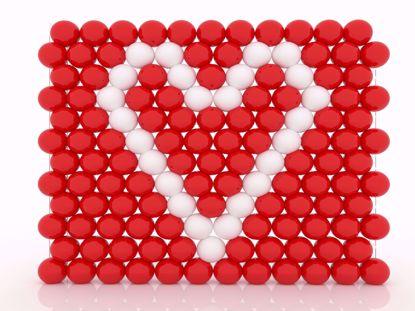 Bild von Wand aus Ballonen gefüllt, 3 x 5 Meter, inkl. Lieferung