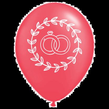 Bild von Motivballon Ringe