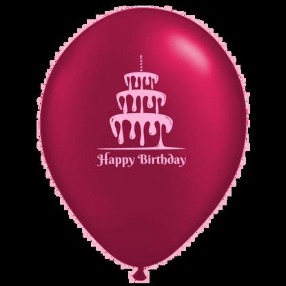 Bild von Motivballon Kuchen