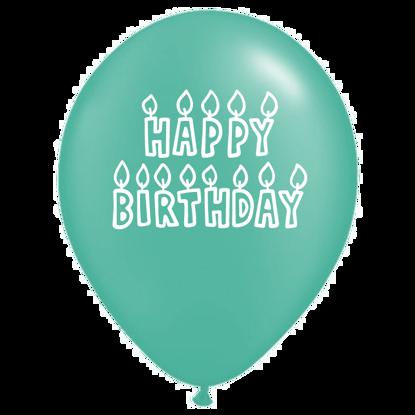 Bild von Motivballon Font