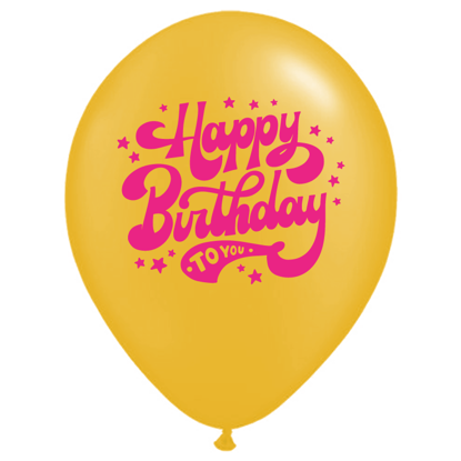 Bild von Motivballon Happy