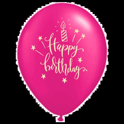 Bild von Motivballon Kerze