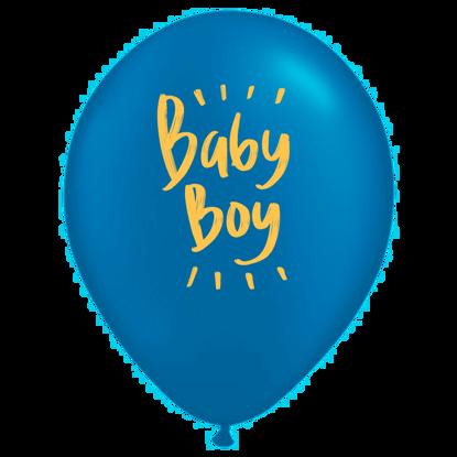 Bild von Motivballon Baby Boy
