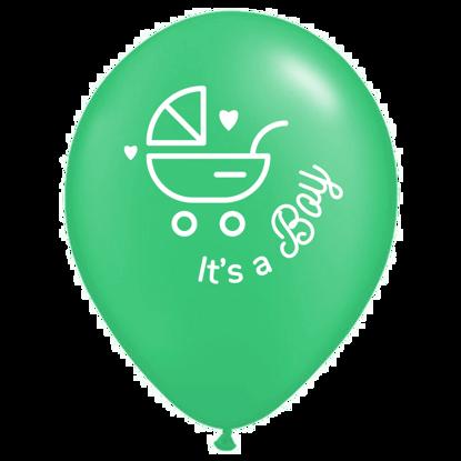 Bild von Motivballon Wagen
