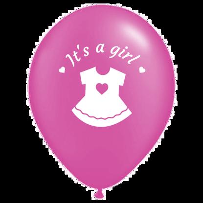 Bild von Motivballon Kleid