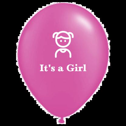 Bild von Motivballon Mädchen