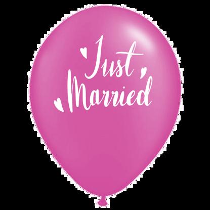 Bild von Motivballon Married