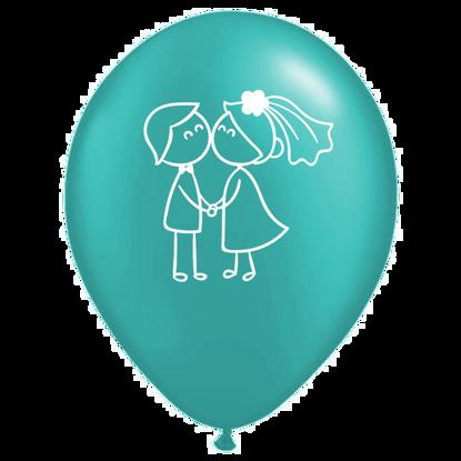 Bild von Motivballon Paar