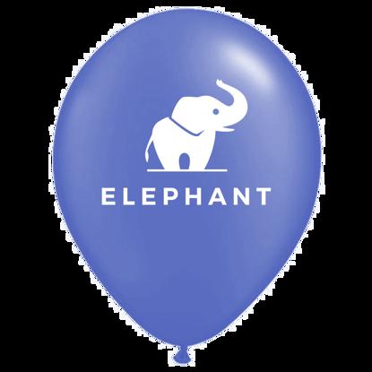 Bild von Motivballon Elefant