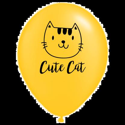 Bild von Motivballon Katze