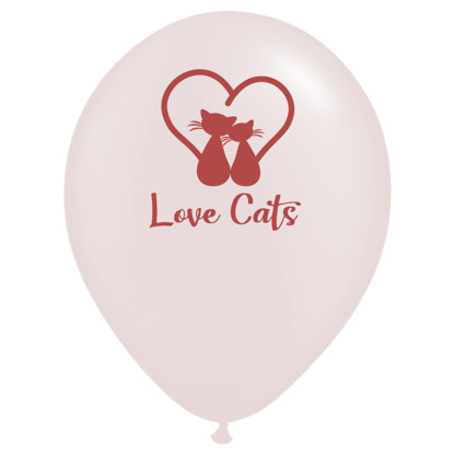 Bild von Motivballon Love Cat