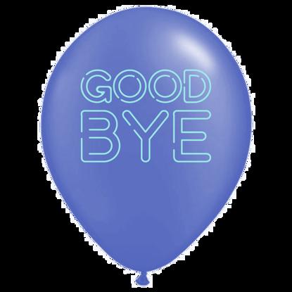 Bild von Motivballon Bye