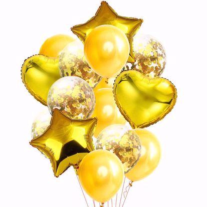 Bild von Ballon Bouquet Gelb