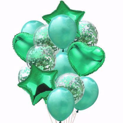 Bild von Ballon Bouquet Grün
