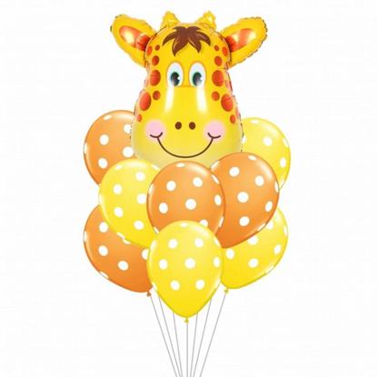 Bild von Ballon Bouquet Giraffe